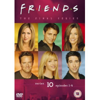 Friends - Series 10 - Vol. 1 - Episodes 1-4 [DVD] [1995] - Pre-Owned